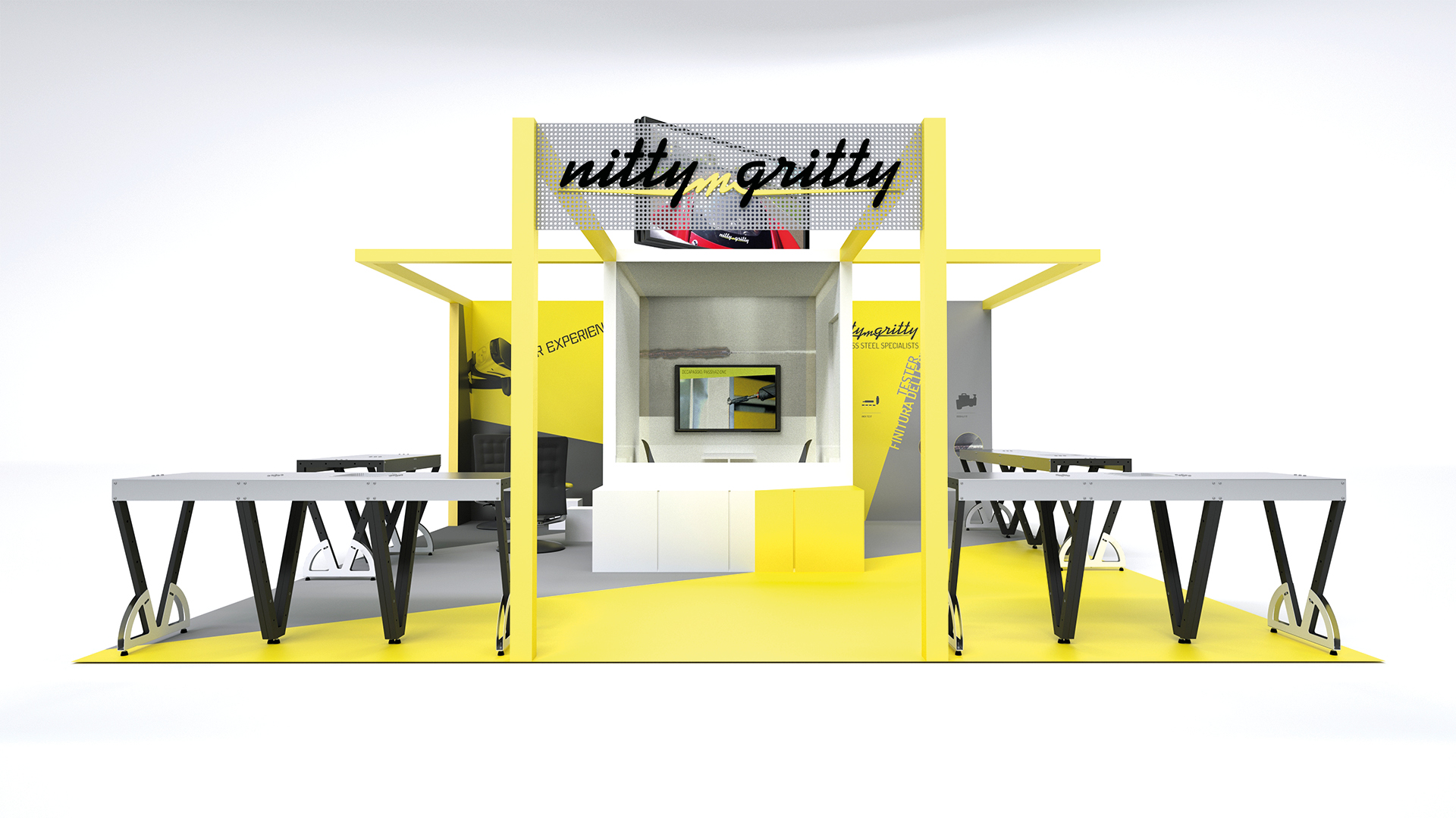 Stand fiera Nitty-Gritty