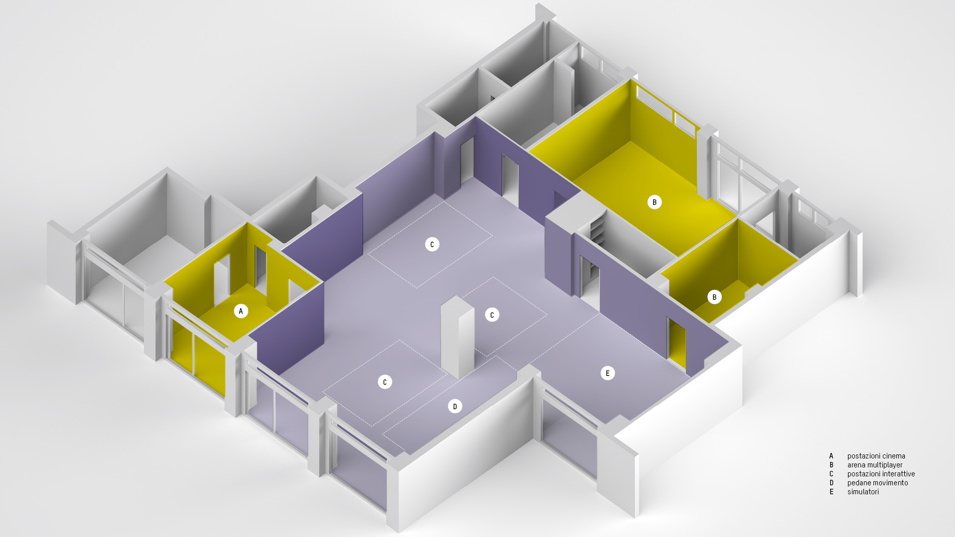 Design interni VRUMS