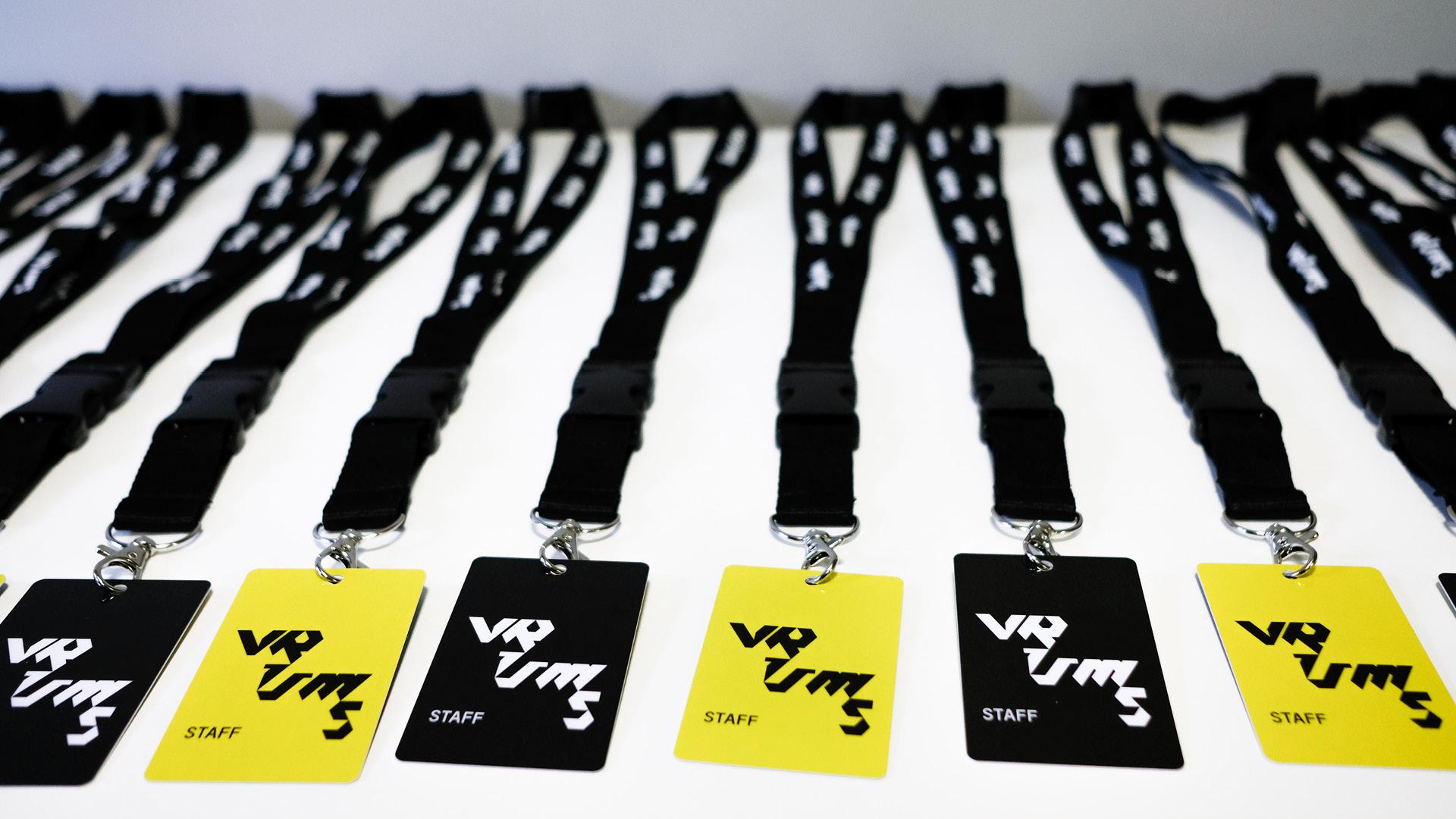 Badge staff VRUMS