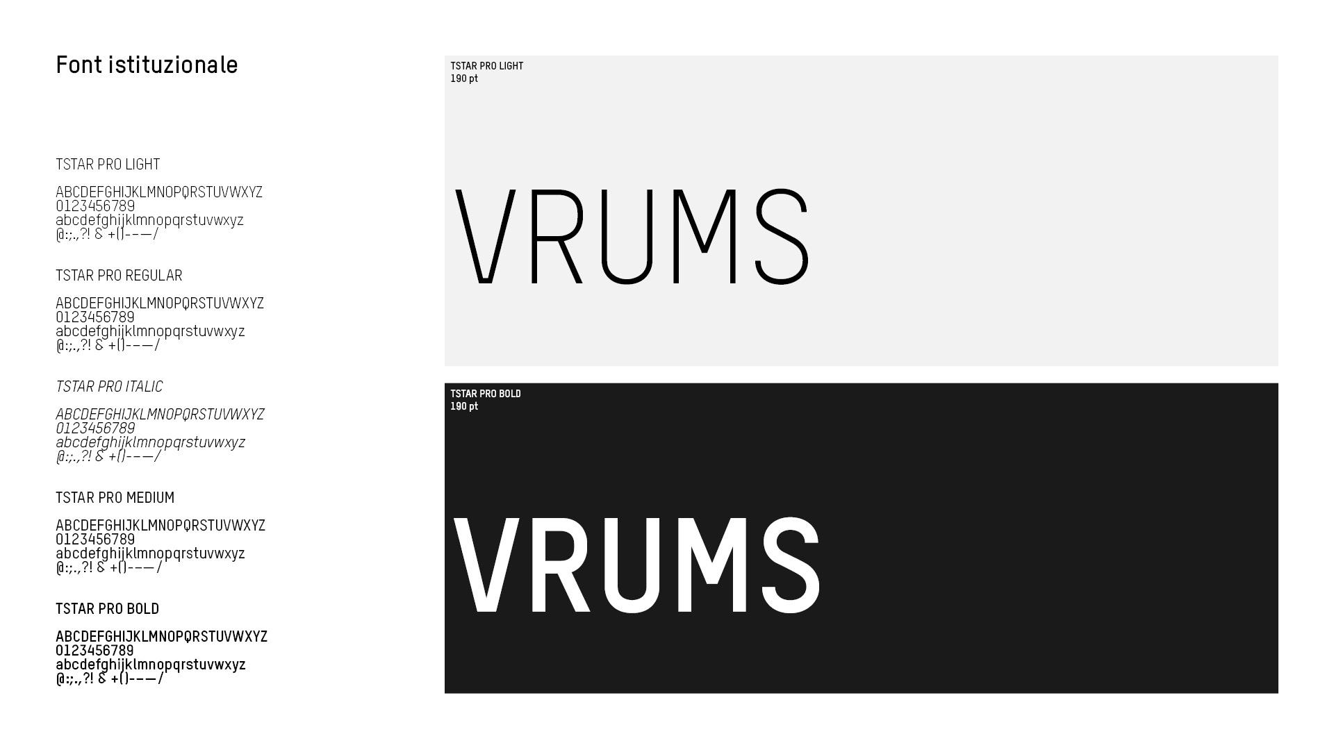 Font VRUMS