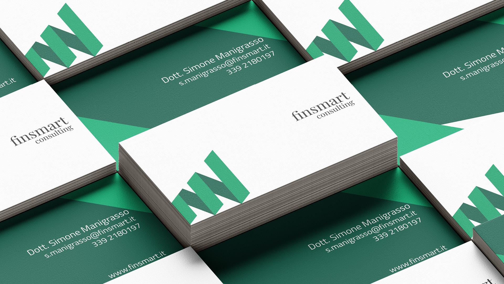 Biglietti da visita Finsmart Consulting