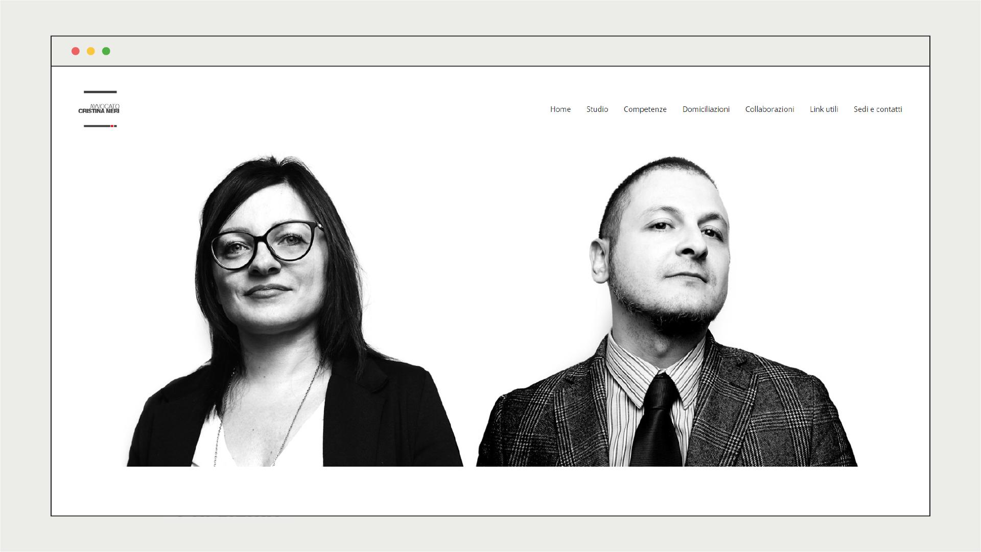 Sito web Studio Legale Neri