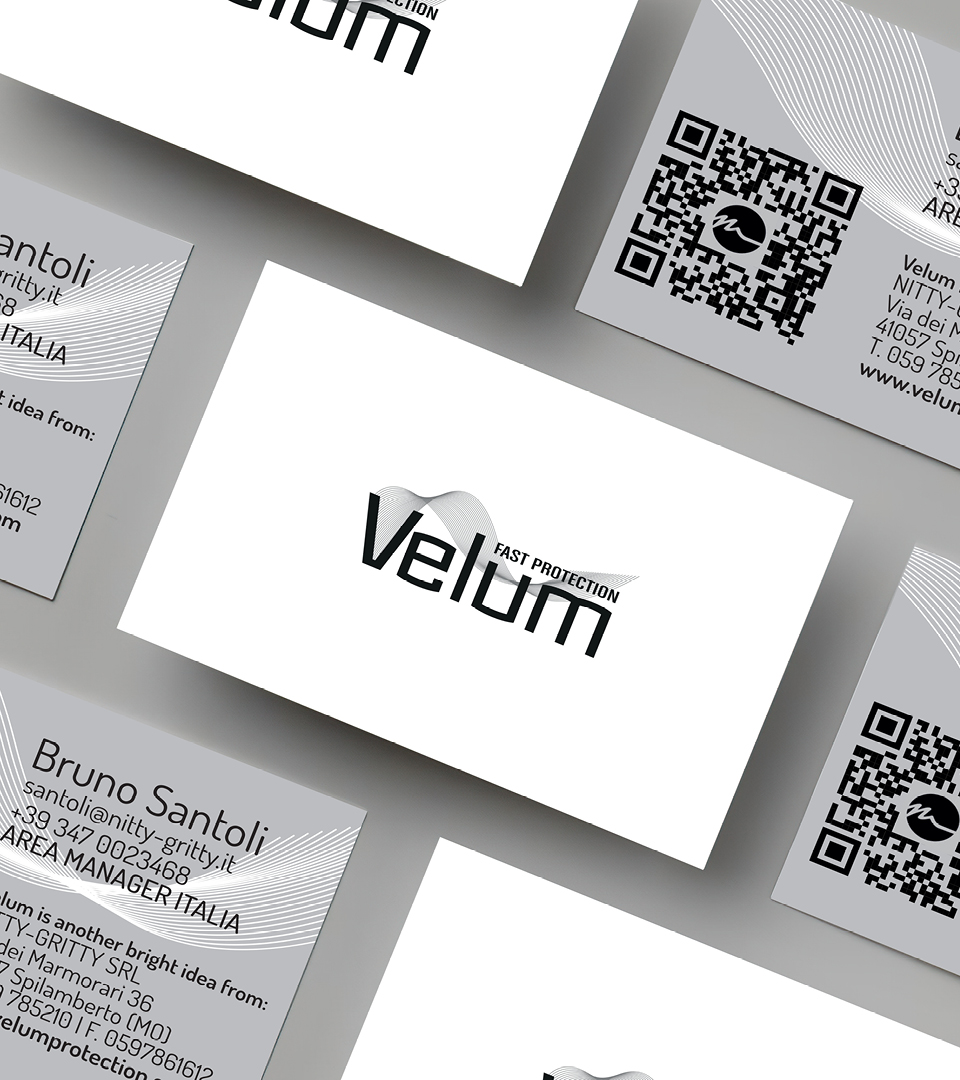Biglietti da visita Velum Protection