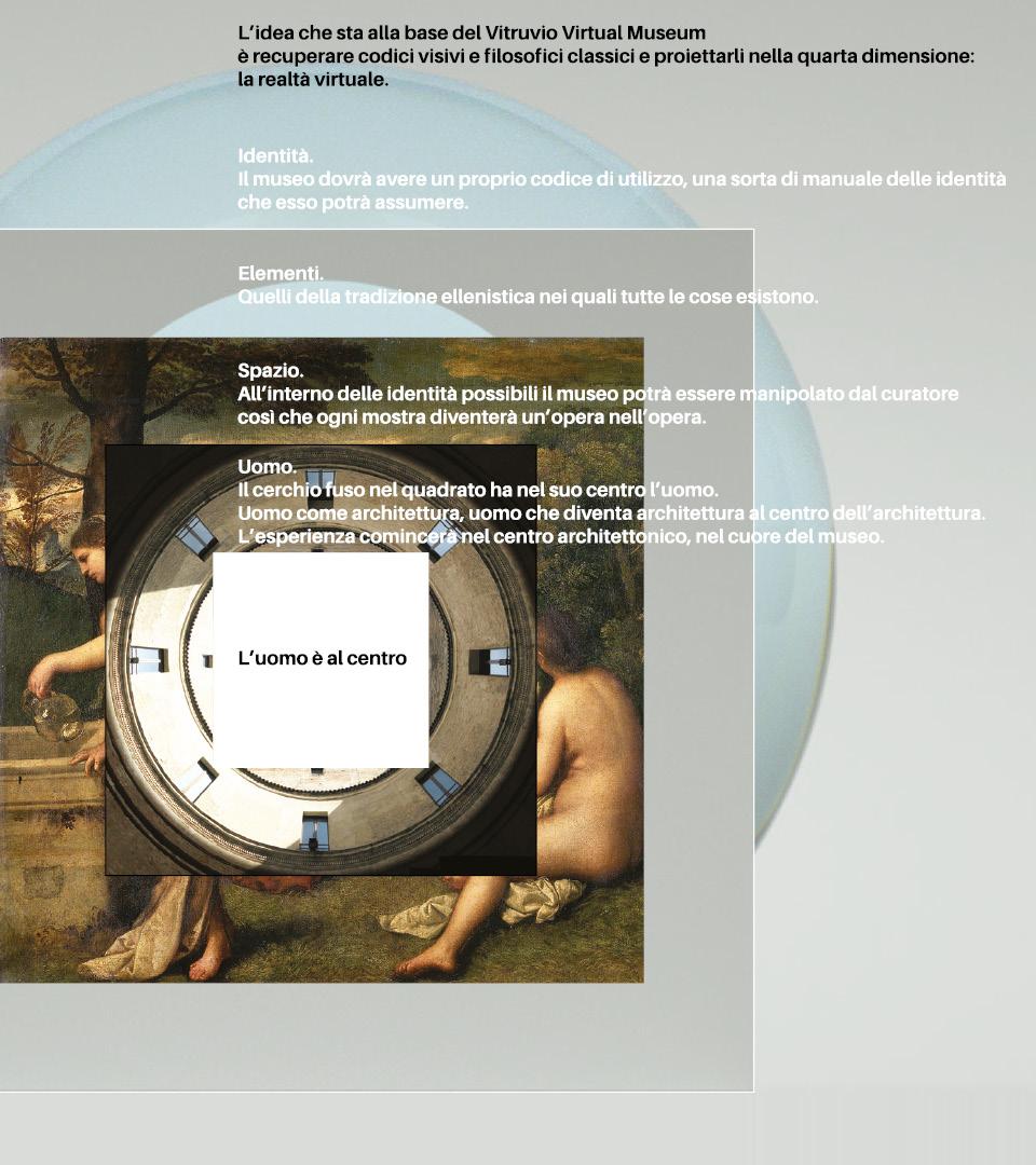 Moodboard Vitruvio Virtual Museum