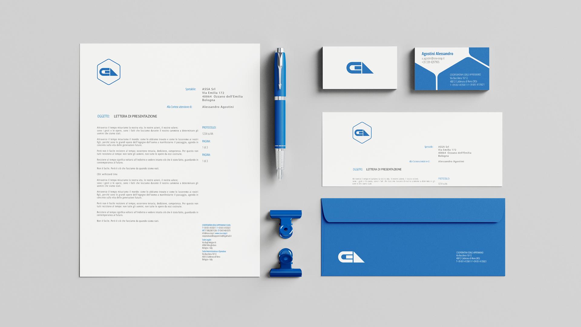 Materiale aziendale CEA Coop