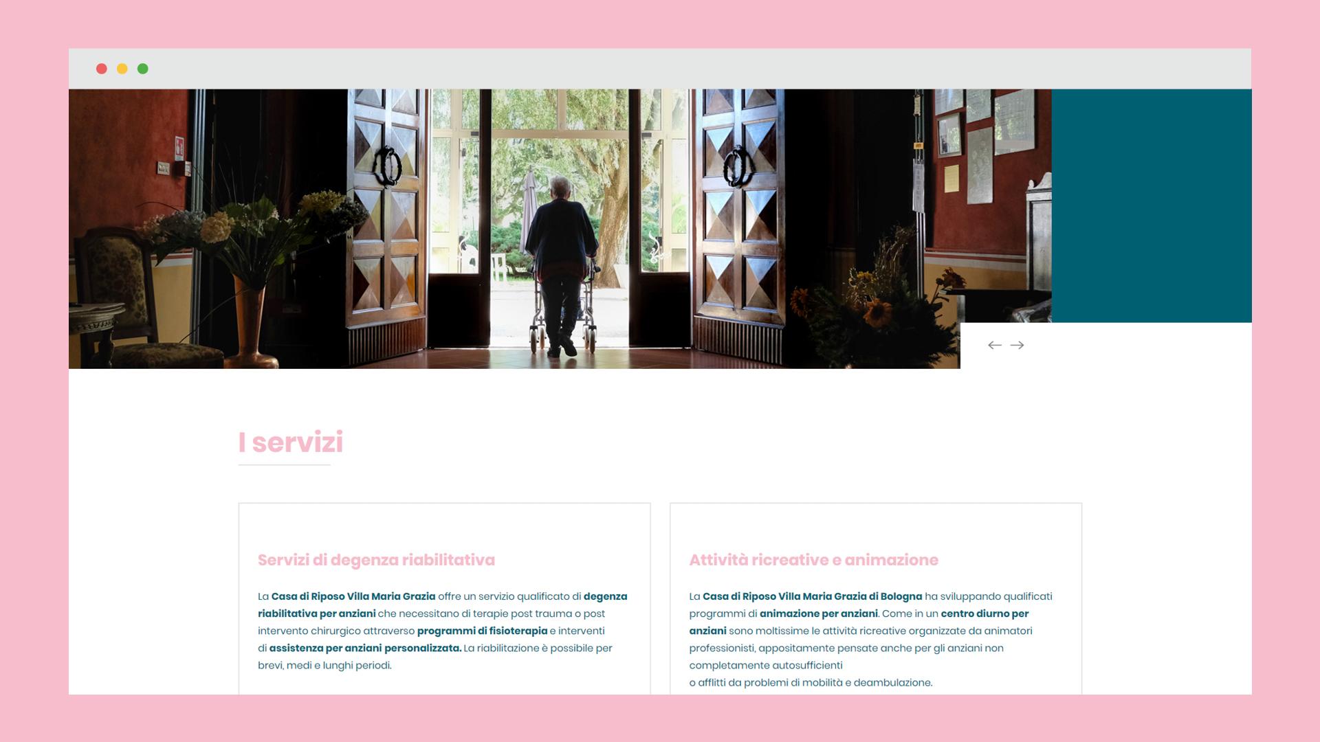 Sito web Villa Maria Grazia