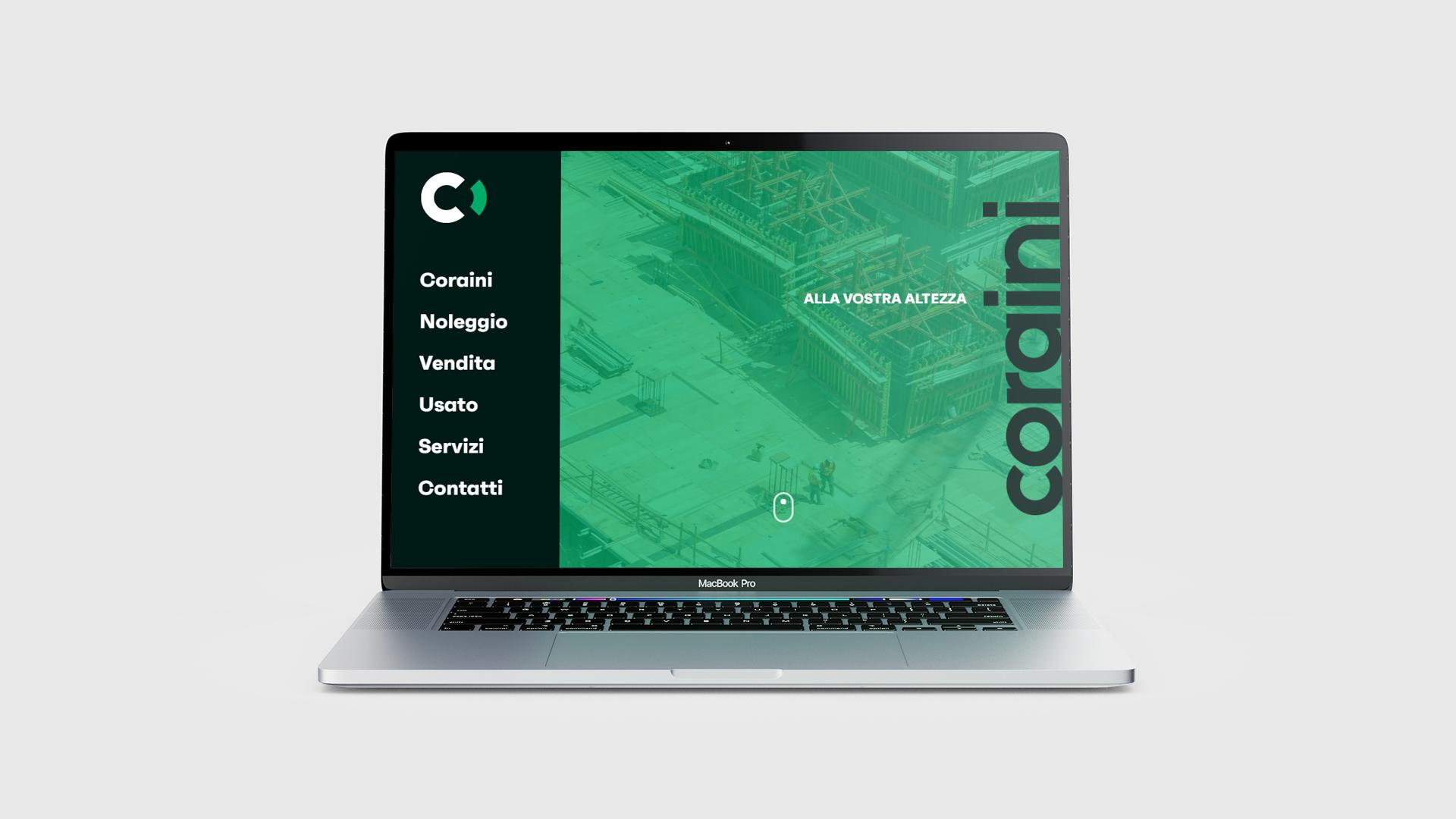 Homepage - Sito web Coraini srl