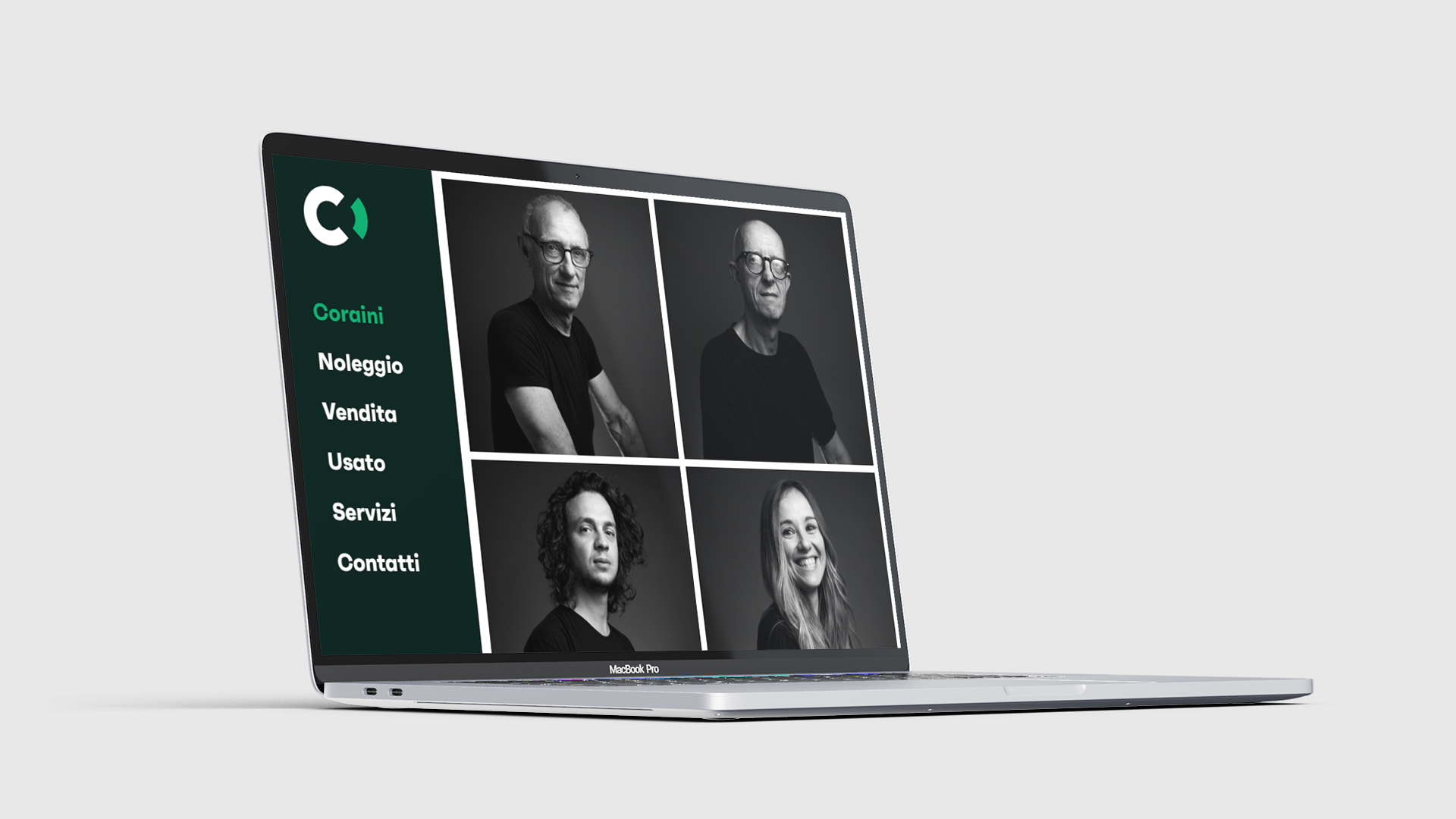 Pagina team - Sito web Coraini srl